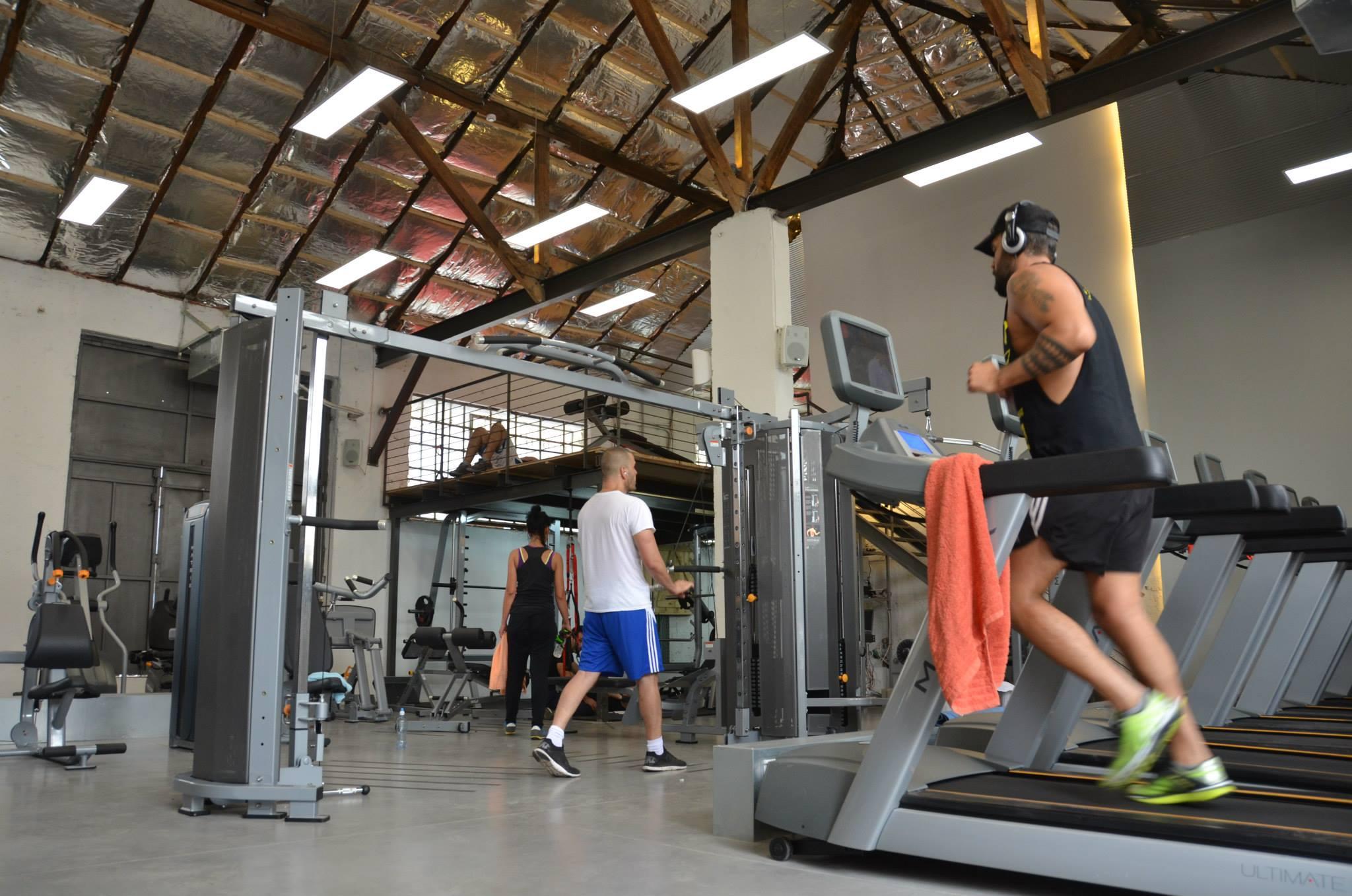 Gym in florentine tel aviv